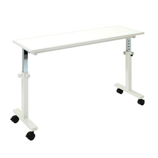 (代引き不可) オーバーテーブル TB-805 115cm 高田ベット製作所 (介護ベッド ベッド オーバー テーブル キャスター 高さ調節 テーブル) 介護用品