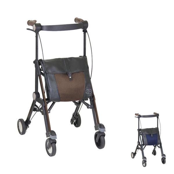 (代引き不可) サンティノ WAG02 幸和製作所 (介護 歩行車 シルバーカー 折りたたみ) 介護用品