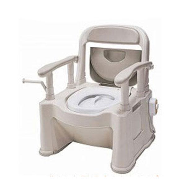 パナソニック 樹脂製ポータブルトイレ 座楽SPシリーズ 背もたれ型SP あたたかタイプ 暖房便座 VALAPTSP (ポータブルトイレ 肘付き椅子 暖房便座) 介護用品, IKUKO(イクコ) shop Lilylily:882e2ed8 --- seeks.jp