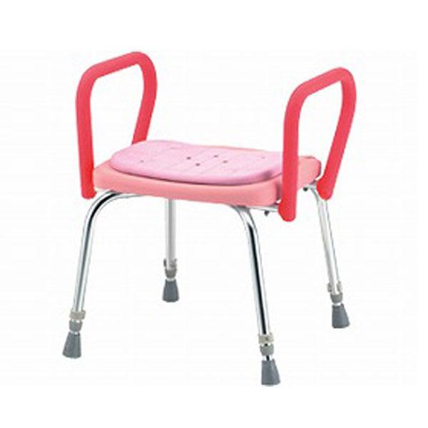 (代引不可) 松永製作所 シャワーいす 背なし ハイグリップ付 SC-13 (介護用 風呂椅子 浴室 椅子 背もたれなし 椅子 グリップ) 介護用品