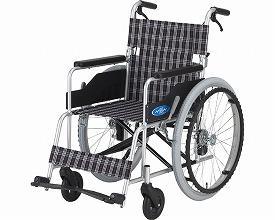 (代引き不可)日進医療器 アルミ自走用車いす NC-1CB  / 低床タイプ(265760)介護用品