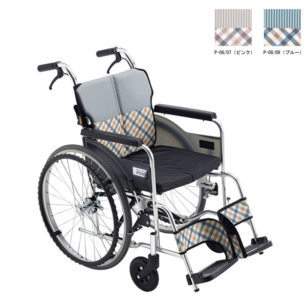 (4/5日限定 当店全品ポイント2倍!!)(代引き不可) 自走用車いす MSRシリーズ MSR-1 ミキ (コンパクト 軽い 姿勢 安定) 介護用品