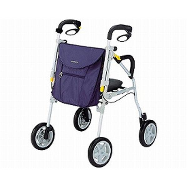 (代引き不可) ピウプレスト75 ウィズワン (シルバーカー 歩行車 介護用品 座面付き)介護用品