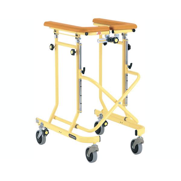 (1/1から1/5までポイント2倍!!)(代引き不可)4輪歩行器 ホップステップ SM-30 松永製作所 (歩行器 室内)介護用品