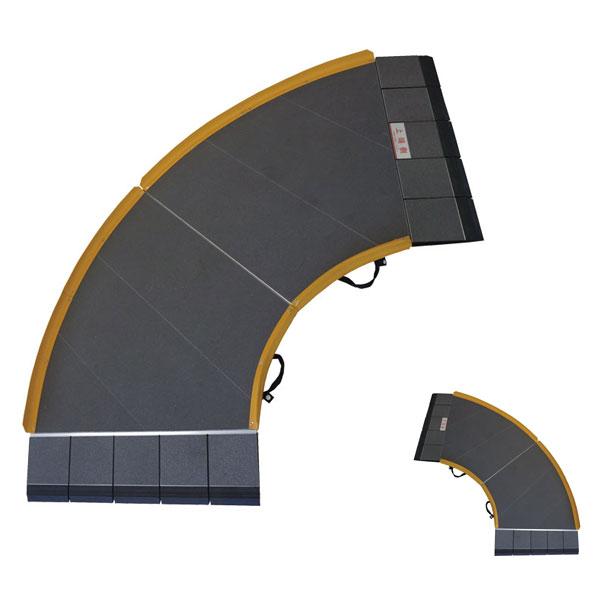 (代引き不可)Zスロープ 642-100(右) 642-200(左)シコク 介護用品