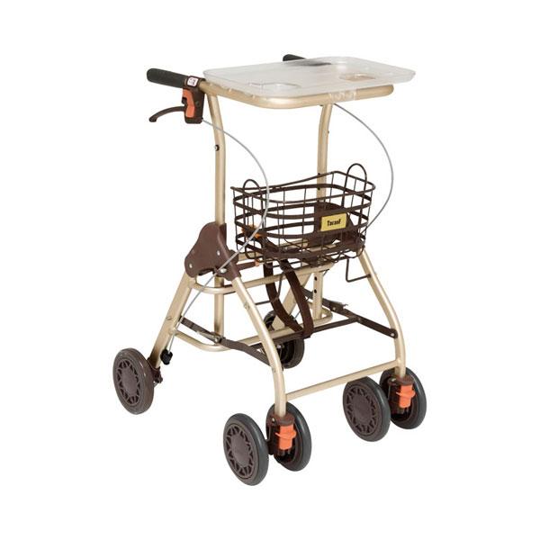 幸和製作所 テイコブリトルホーム WAW05(シルバーカー 歩行車 室内用 歩行補助 歩行安定) 介護用品