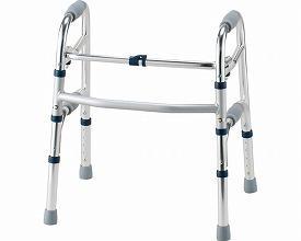 (1/1から1/5までポイント2倍!!)イーストアイ セーフティーアームウォーカー 固定式タイプ ミニタイプ SAWSR (介護 歩行器 歩行補助器 折たたみ) 介護用品