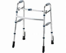 イーストアイ セーフティーアームウォーカー Cタイプ ストレートキャスタータイプ スタンダードタイプ SAWCR (介護 歩行器 歩行補助器 折たたみ) 介護用品