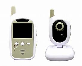 ワイヤレスモニター ケアモニ / TVBC-35(親機+子機) 東心 介護用品