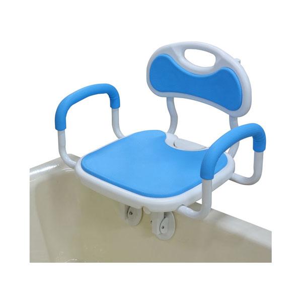 回転バスボード 極楽 BBK-002 ユニトレンド (介護 風呂 椅子 入浴補助) 介護用品