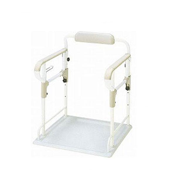 安寿 ポータブルトイレ用フレームささえ 533-070 アロン化成 (介護 トイレ 手すり トイレ用手すり 介護 つかまり立ち ポータブルトイレ 手すり) 介護用品
