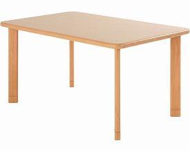 (代引き不可)コイズミファニテック ダイニングGM テーブルWT 天板幅150cm(312068)介護用品