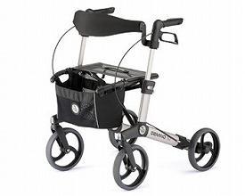 (代引き不可)パラマウント ハンディウォークS KZ-C21001(歩行車 軽量 シルバーカー  介護用品 歩行補助)(日・祝日配達不可 時間指定不可) 介護用品