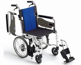 (代引き不可)介助用車いす BAL-4 ミキ(介助用車いす 標準車いす) 介護用品