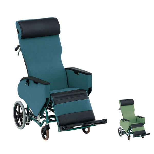 (代引き不可) 松永製作所 ティルト&フルリクライニング車椅子 エリーゼ FR-31TR (車いす 車イス) 介護用品