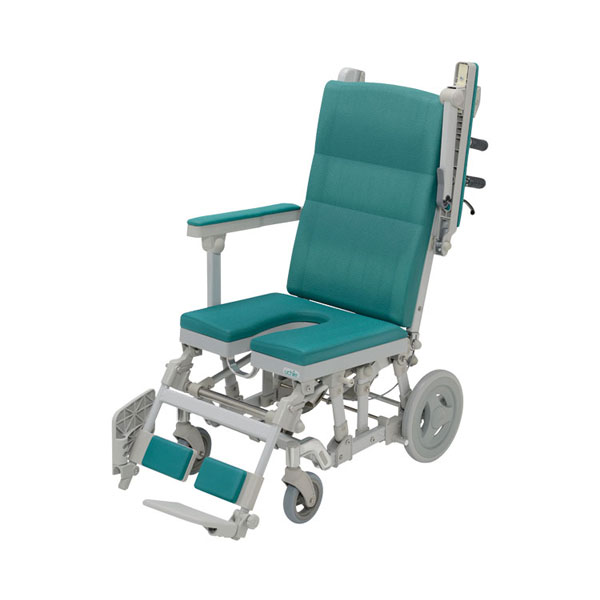 (1/1から1/5までポイント2倍!!)(代引き不可) シャワーラクリク U型シート SRC-003 ウチヱ (お風呂 椅子 浴用 シャワーキャリー 背付き 介護 椅子) 介護用品