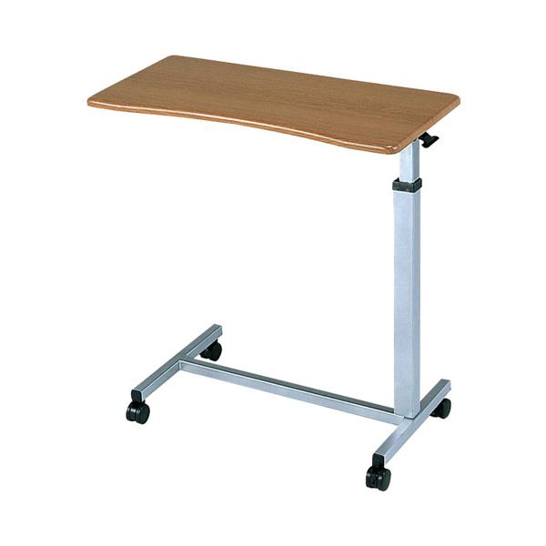 (代引き不可)ベッドサイドテーブル SL No.710 睦三 (介護ベッド ベッド サイド テーブル キャスター 高さ調節 テーブル) 介護用品