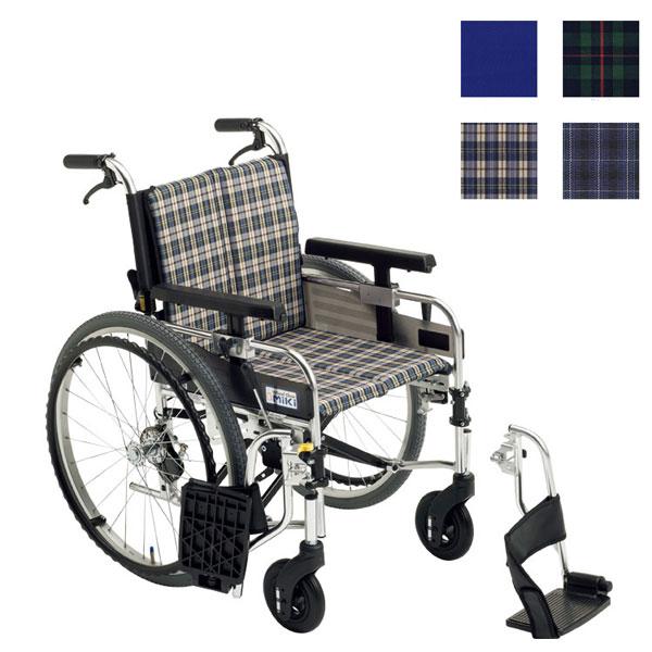 (代引き不可) アルミ自走車いす ミューシリーズ MYU226JDSW ミキ (モジュール座面高 スイングアウト 機能充実) 介護用品