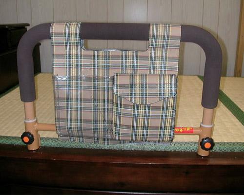 吉野商会 ささえ 畳ベッド用手すり (畳ベッド ベッド 手すり 立ち上がり手すり 立ち上がり補助手すり おきあがり 室内 介護ベッド ) 介護用品