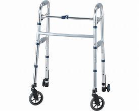 (1/1から1/5までポイント2倍!!)イーストアイ セーフティーアームウォーカー Lタイプ スイングキャスタータイプ スタンダードタイプ SAWLR (介護 歩行器 歩行補助器 折たたみ) 介護用品