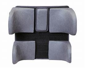 (代引き不可)モジュラーサポートシステム 大人用腰パッドセットMSS32(車いす用クッション 背クッション 車いす用サポートシート) 介護用品