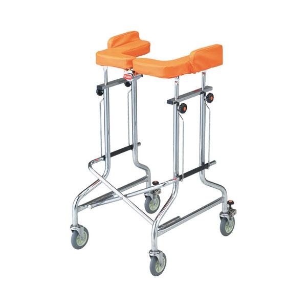 (1/1から1/5までポイント2倍!!)(代引き不可) アルコー1G-T型 100491 星光医療器製作所 (歩行器 歩行車 歩行補助 抵抗器付 コンパクト 折りたたみ) 介護用品