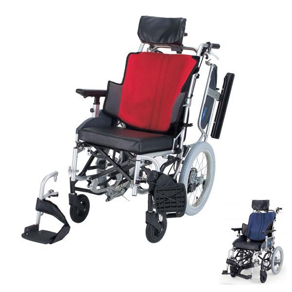 (1/1から1/5までポイント2倍!!)(代引き不可) 座王 NAH-F5 介助式ティルト型 座幅40cm 42cm 日進医療器 (車椅子 ティルト) 介護用品