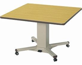 (代引き不可) 施設用テーブル XXHタイプ DWT-1611-XXH 幅160cm アイリスチトセ (昇降 折りたたみ キャスター) 介護用品