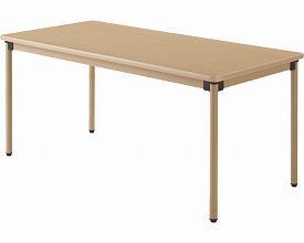 (代引き不可) 施設向けテーブル UFT-ST1675 幅160×奥行75cm 介援隊 介護用品