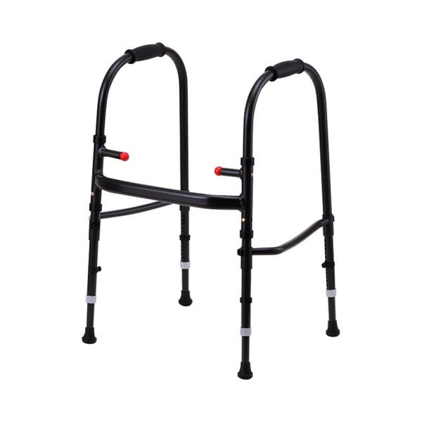 (代引き不可) MgウォーカーIII型 S M 田辺プレス (歩行器 超軽量 歩行訓練 折りたたみ) 介護用品