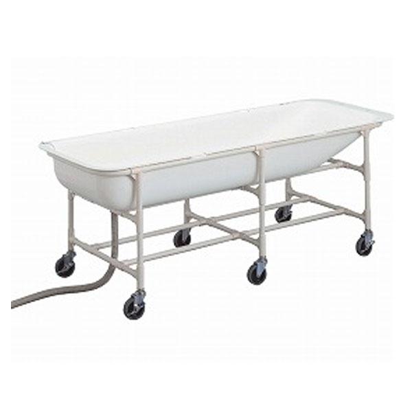 (代引き不可)介護浴槽 湯った~りII さくら ベッド用キャスター付 TNN-AH トマト (介護浴槽 簡易お風呂 キャスター付き) 介護用品【532P16Jul16】