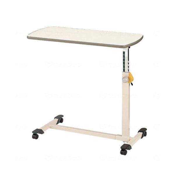 (代引き不可)パラマウント ベッドサイドテーブル(ノブボルト式)アイボリー KF-282(ベッドテーブル 介護)(日・祝日配達不可 時間指定不可) 介護用品