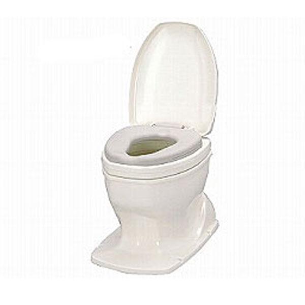 アロン化成 安寿 サニタリエースOD据置式 ソフト便座 補高8cm 871-118 (和式トイレを洋式に 簡易トイレ 介護 トイレ 便座 便座クッション) 介護用品