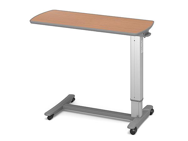 (代引き不可)パラマウント ベッドサイドテーブル / KF-1960 チェリー(ガススプリング式 ベッドテーブル 介護)(日・祝日配達不可 時間指定不可) 介護用品