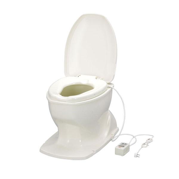 アロン化成 安寿 サニタリエースOD据置式 暖房便座 補高5cm 871-125 (和式トイレを洋式に 簡易トイレ 介護 トイレ 便座 暖房便座) 介護用品