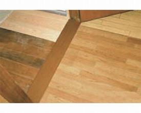 (代引き不可)バリアフリーレール フラットタイプ 幅10cm×長さ4m / 4115 ブロンズ シクロケア介護用品