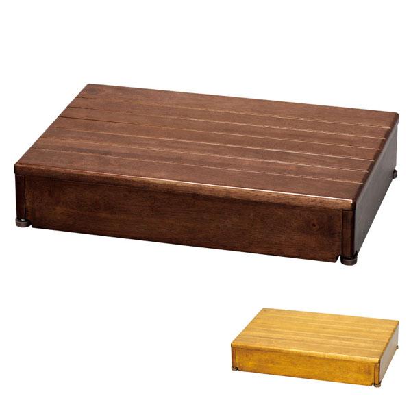 (4/1日限定 当店全品ポイント5倍!!)安寿 木製玄関台 1段タイプ 60W-40-1段 アロン化成 (玄関 踏み台 木 踏み台 木製 転倒防止 ステップ 踏み台 ステップ 木製) 介護用品
