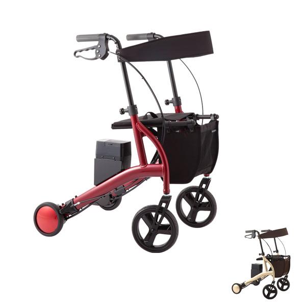 (代引き不可) ロボットアシストウォーカー RT.2 トールタイプ RT2-02RD RT2-02CG RT.ワークス (シルバーカー 歩行車 ショッピング 折りたたみ 介護) 介護用品