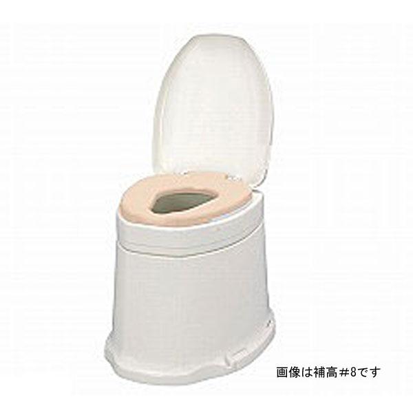 アロン化成 安寿 サニタリエース SD据置式 ソフト便座 補高5cm 871-135 (和式トイレを洋式に 簡易トイレ 介護 トイレ 便座 便座クッション) 介護用品