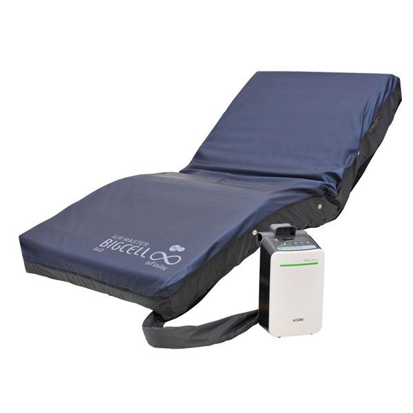 (代引き不可) エアマスター ビッグセル インフィニティ 1000 CR-559 100cm幅 ケープ (エアマットレス 床ずれ防止用具 体圧分散) 介護用品