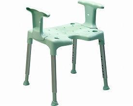 """(代引き不可)相模ゴム工業 シャワーチェア """"スイフト"""" RB1101 アームレスト付 (介護用 風呂椅子 浴室 椅子 背もたれなし 椅子 肘掛け椅子)介護用品"""