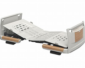 (代引き不可)パラマウント 楽匠Z 3モーション 木製ボード 脚側低 ミニ91cm幅/ KQ-7322(日・祝日配達不可 時間指定不可) 介護用品