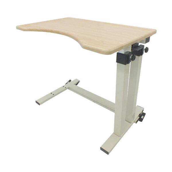 (4/5日限定 当店全品ポイント2倍!!)ベッドサイドテーブル KLII No.732 板バネタイプ (介護ベッド 車椅子 ベッド サイドテーブル キャスター 高さ調節 テーブル) 介護用品