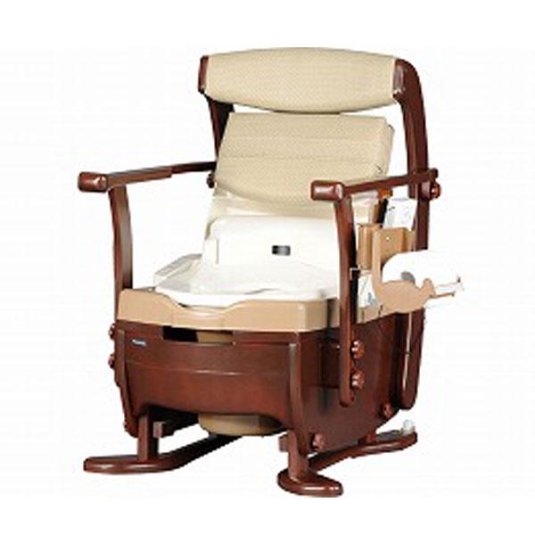 パナソニック 家具調トイレ 座楽シャワポット ベーシック PN-L21515(ウォシュレット 暖房脱臭機能付き) 介護用品