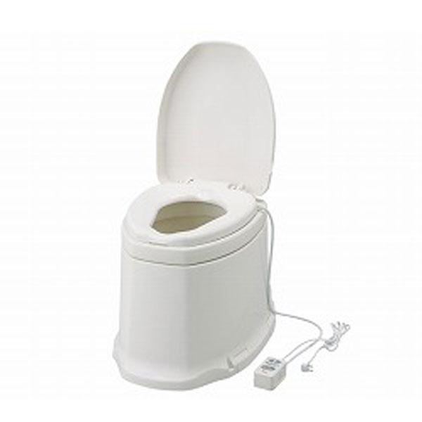 アロン化成 安寿 サニタリエース SD据置式 暖房便座 補高5cm 871-145 (和式トイレを洋式に 簡易トイレ 介護 トイレ 便座 暖房便座) 介護用品