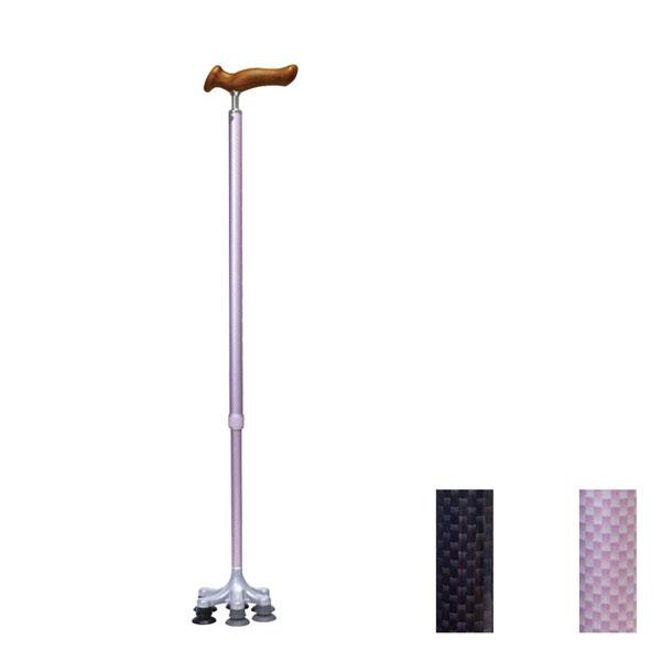 ケアリングスーパー 多点杖 C088 C089 ケアリング (多点杖 ステッキ つえ 歩行補助) 介護用品