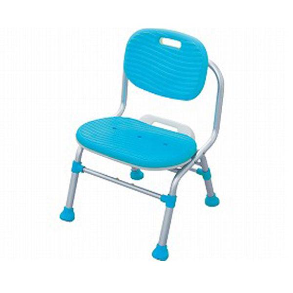 幸和製作所 テイコブ シャワーチェア 背付きタイプ SC03 (入浴用椅子 お風呂用椅子 入浴用品 折りたたみ) 介護用品