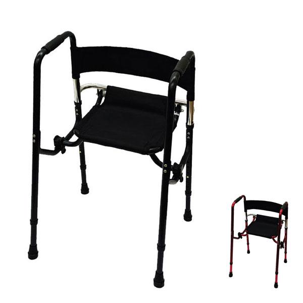Rec01 礎 (歩行器 歩行補助 折りたたみ 座面) 介護用品