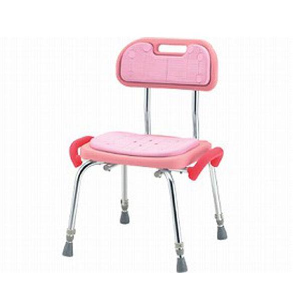 (代引き不可) 松永製作所 背付き ローグリップ付 SC-22 (介護用 風呂椅子 浴室 椅子 グリップ) 介護用品