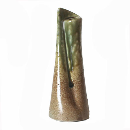 下部が大きく安定感のある花瓶口が小さくて花が活けやすい一輪差し!! 花瓶 一輪挿し 信楽